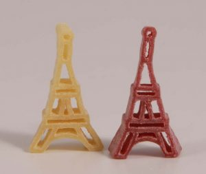 Eiffelturm-Nudeln